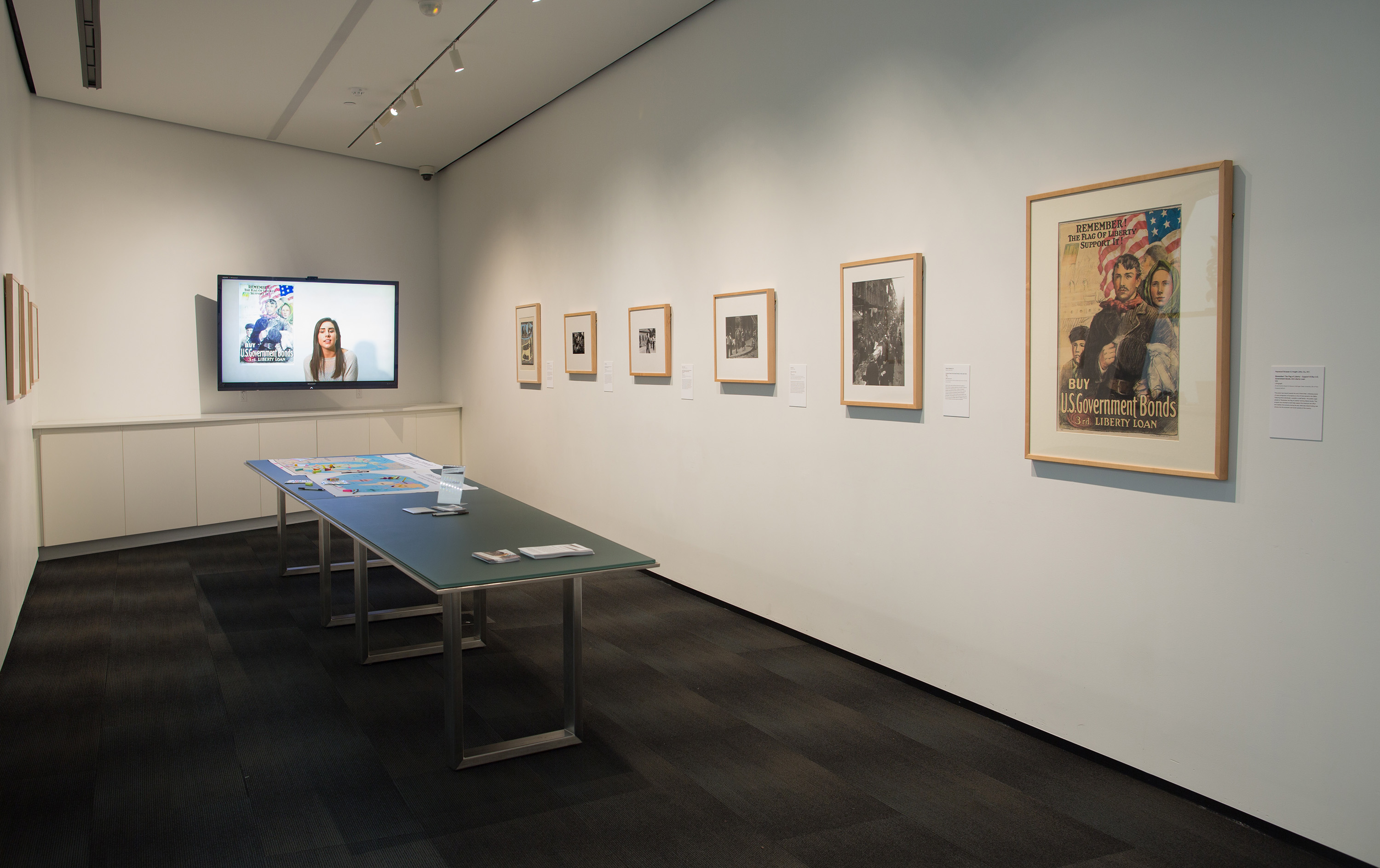 <i>(Dis)Connections: Glimpses of Community</i>, installation view at the Eli and Edythe Broad Art Museum at Michigan State University, 2016. Photo: Eat Pomegranate Photography