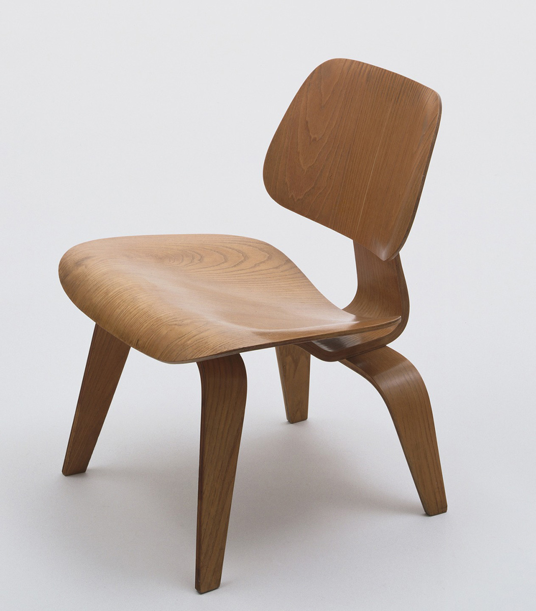 Charles and Ray Eames (Designers), Eames Molded Lounge Chair, 1960s. Eli and Edythe Broad Art Museum, Michigan State University, gift of the Estate of Ila H. Church.