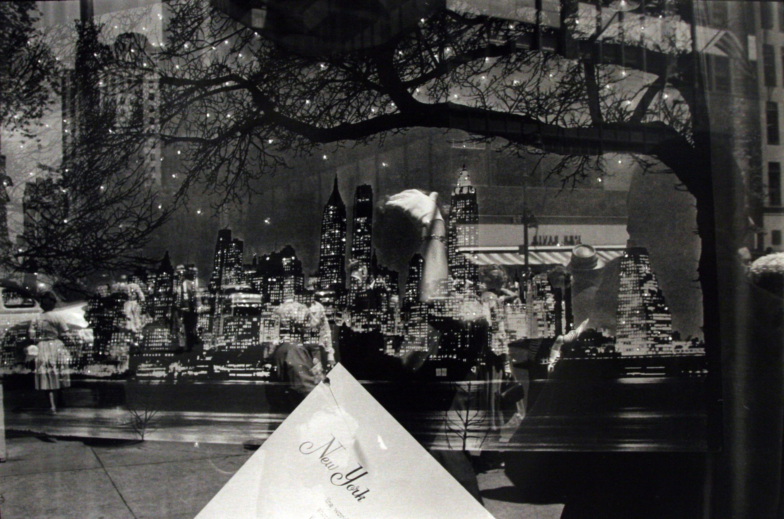 Frank Paulin, <i>Multiple exposure New York Skyline</i>, 1956. Eli and Edythe Broad Art Museum, Michigan State University, Gift of Bruce and Silke Silverstein.