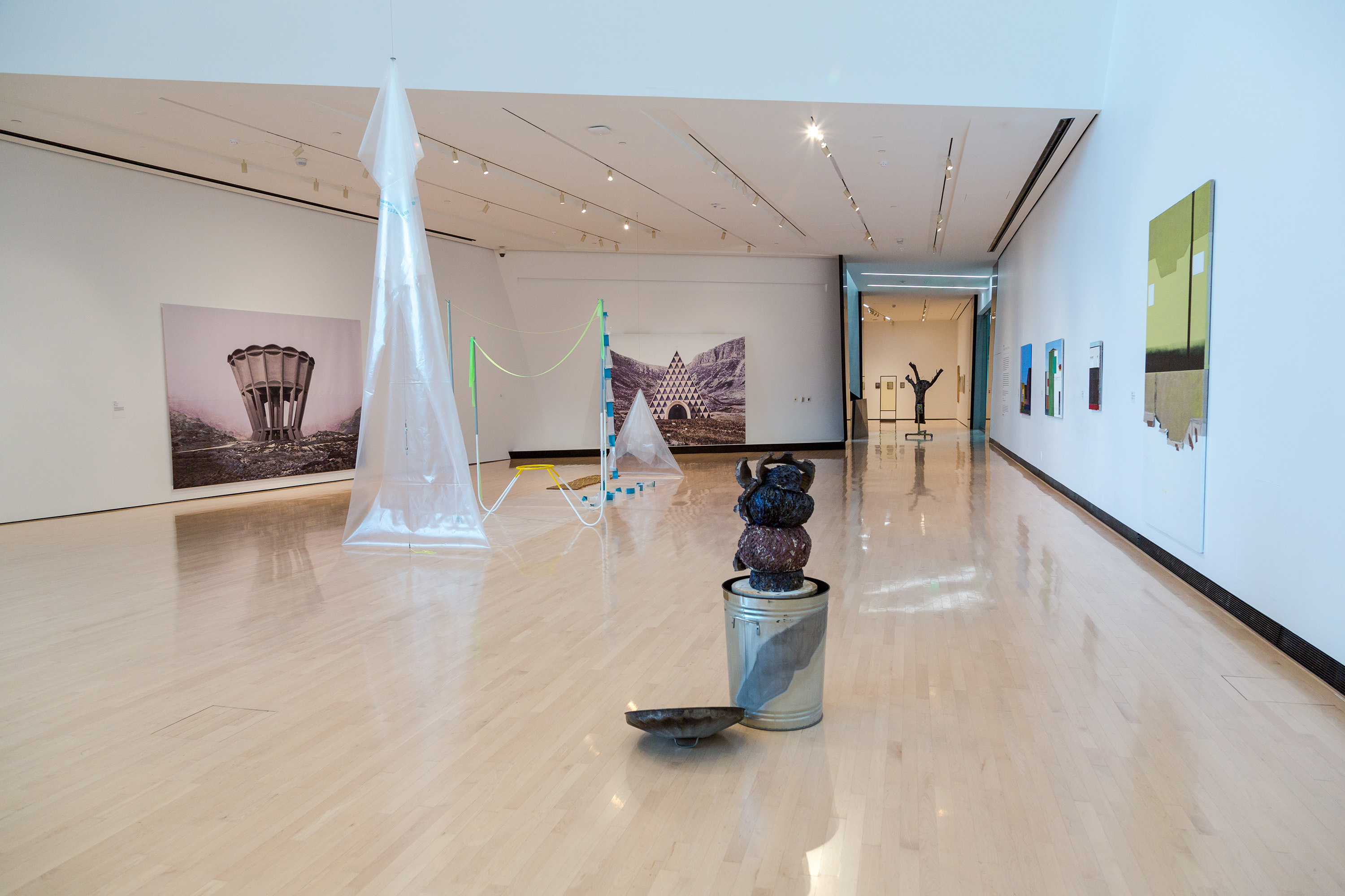 <i>2116: Forecast of the Next Century</i>, installation view at the Eli and Edythe Broad Art Museum at Michigan State University, 2016. Photo: MSU Broad