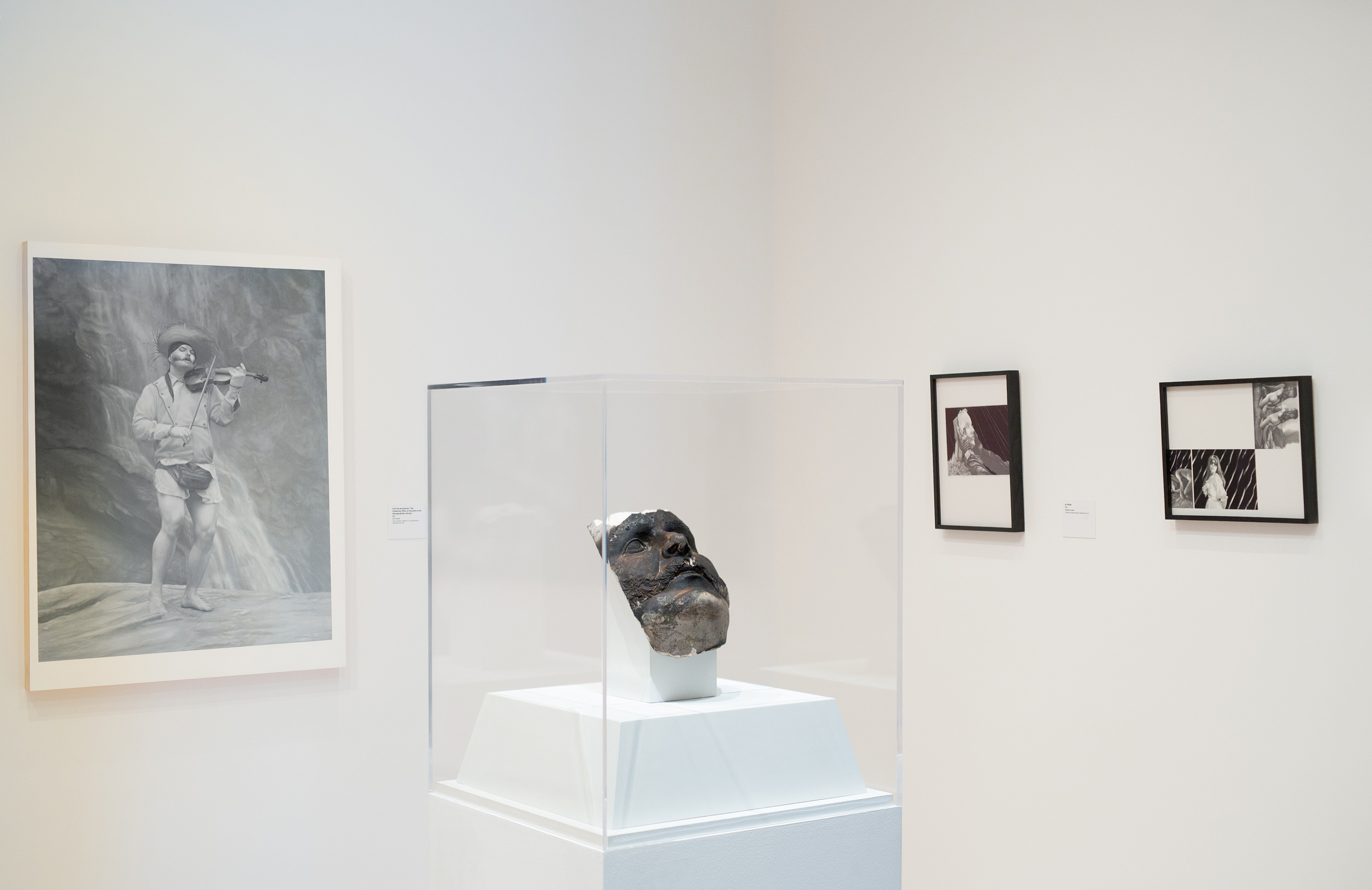 <i>Andrew Sendor: Paintings, Drawings and a Film</i>, installation view at the Eli and Edythe Broad Art Museum at Michigan State University, 2015. Photo: Eat Pomegranate Photography
