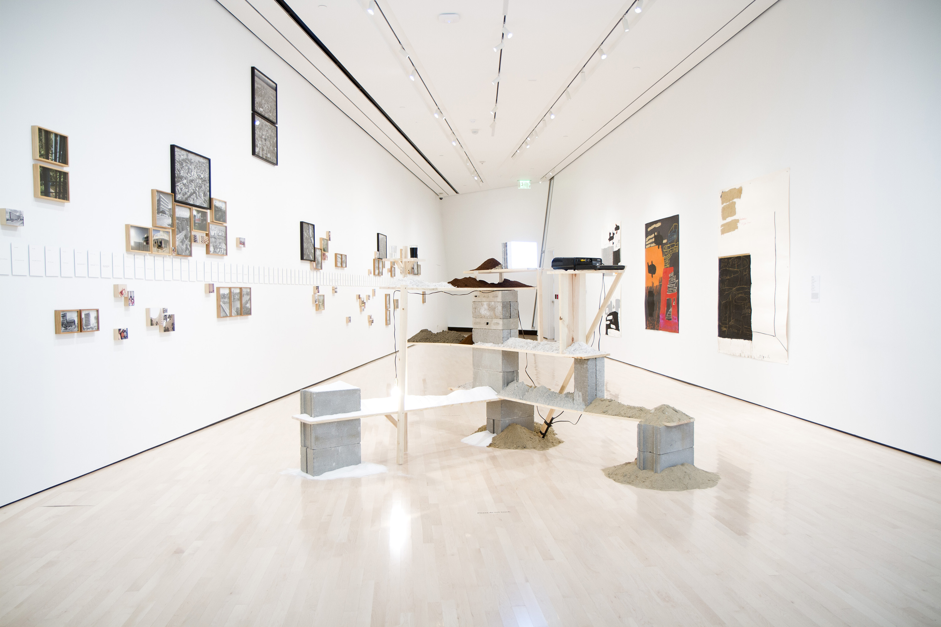 <i>Blind Field</i>, installation view at the Eli and Edythe Broad Art Museum at Michigan State University, 2013. Photo: Eat Pomegranate Photography