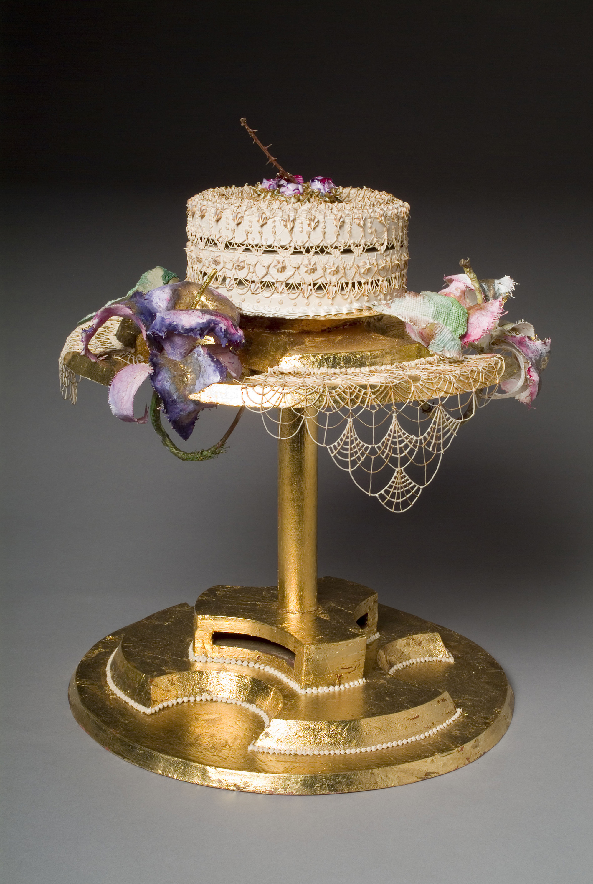 Pat Lasch, Anniversary Cake, 1986. Eli and Edythe Broad Art Museum, Michigan State University, MSU purchase.