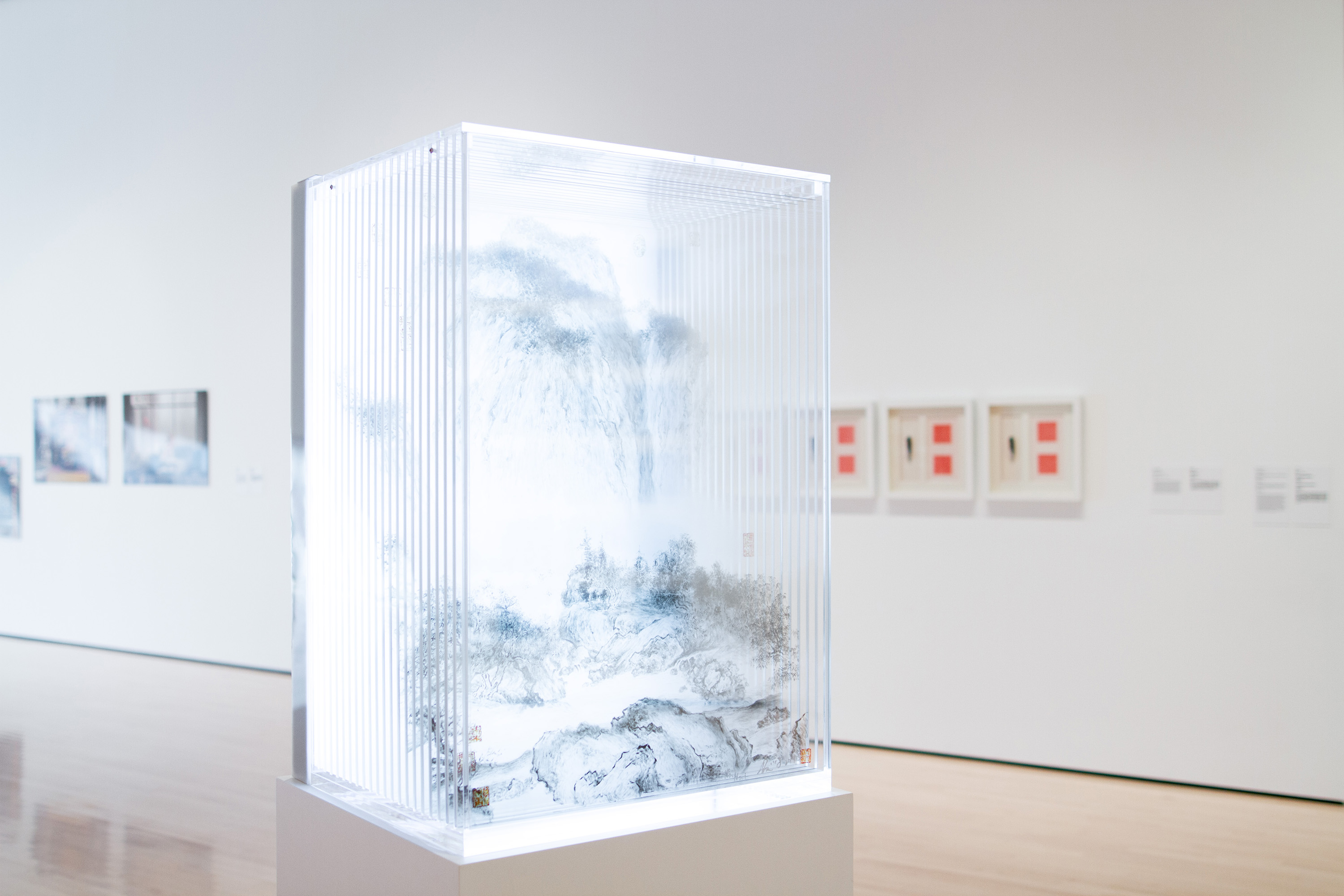 <i>Future Returns: Contemporary Art from China</i>, installation view at the Eli and Edythe Broad Art Museum at Michigan State University, 2014. Photo: Eat Pomegranate Photography