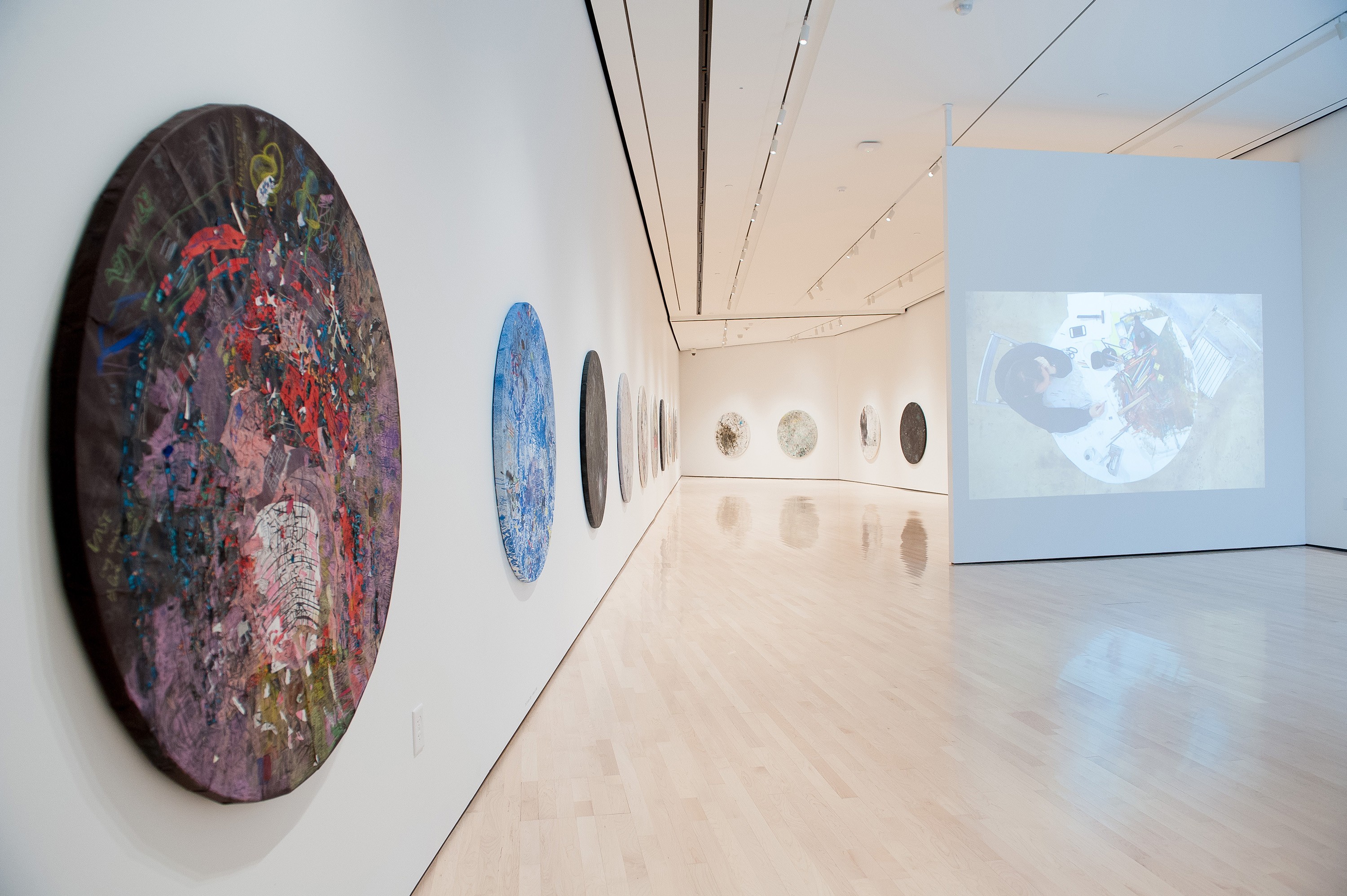 <i>Guillermo Kuitca: Diarios</i>, installation view at the Eli and Edythe Broad Art Museum at Michigan State University, 2013. Photo: Trumpie Photography