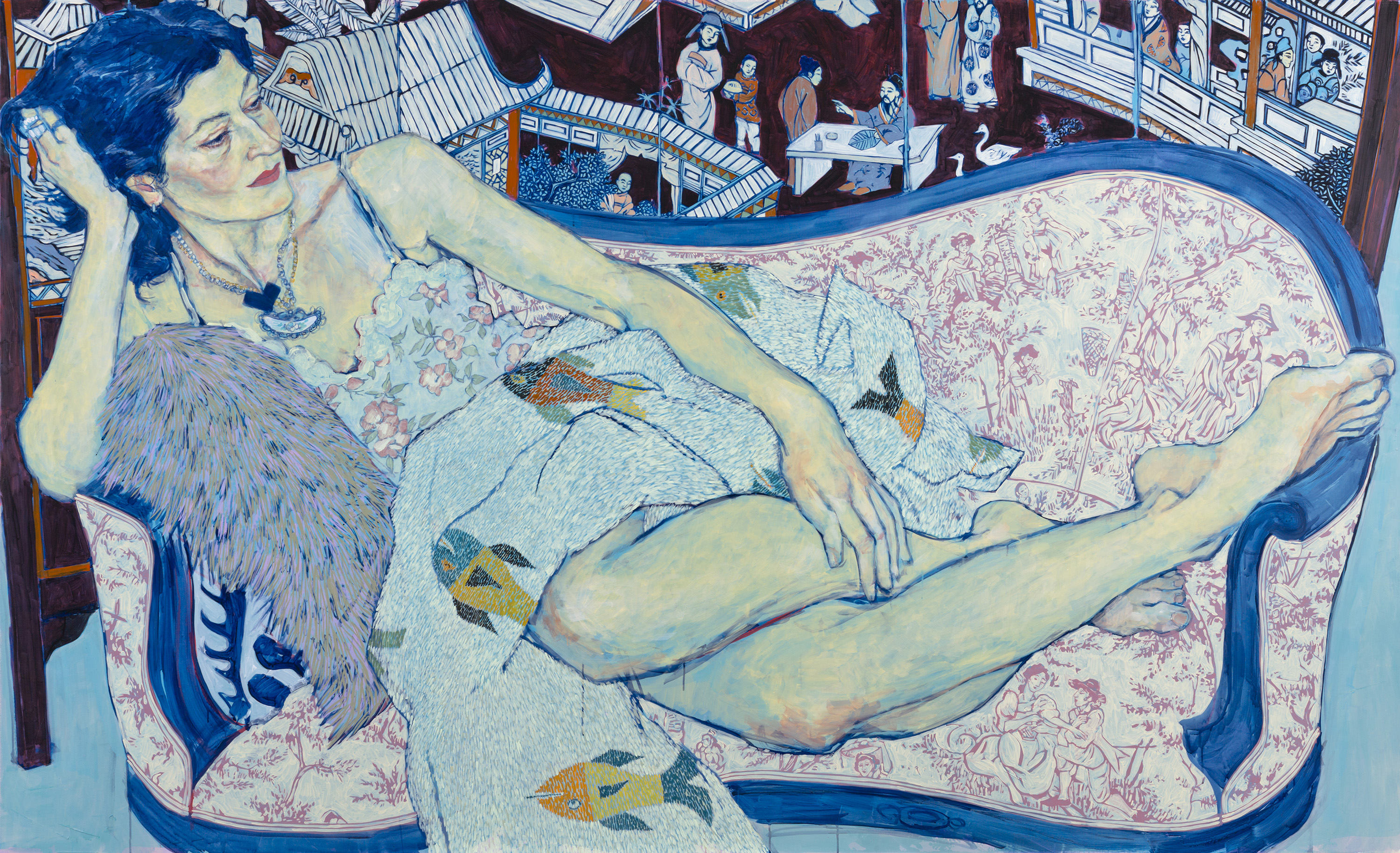 <i>The Genres: Portraiture featuring Hope Gangloff</i>, installation view at the Eli and Edythe Broad Art Museum at Michigan State University, 2013. Photo: Eat Pomegranate Photography