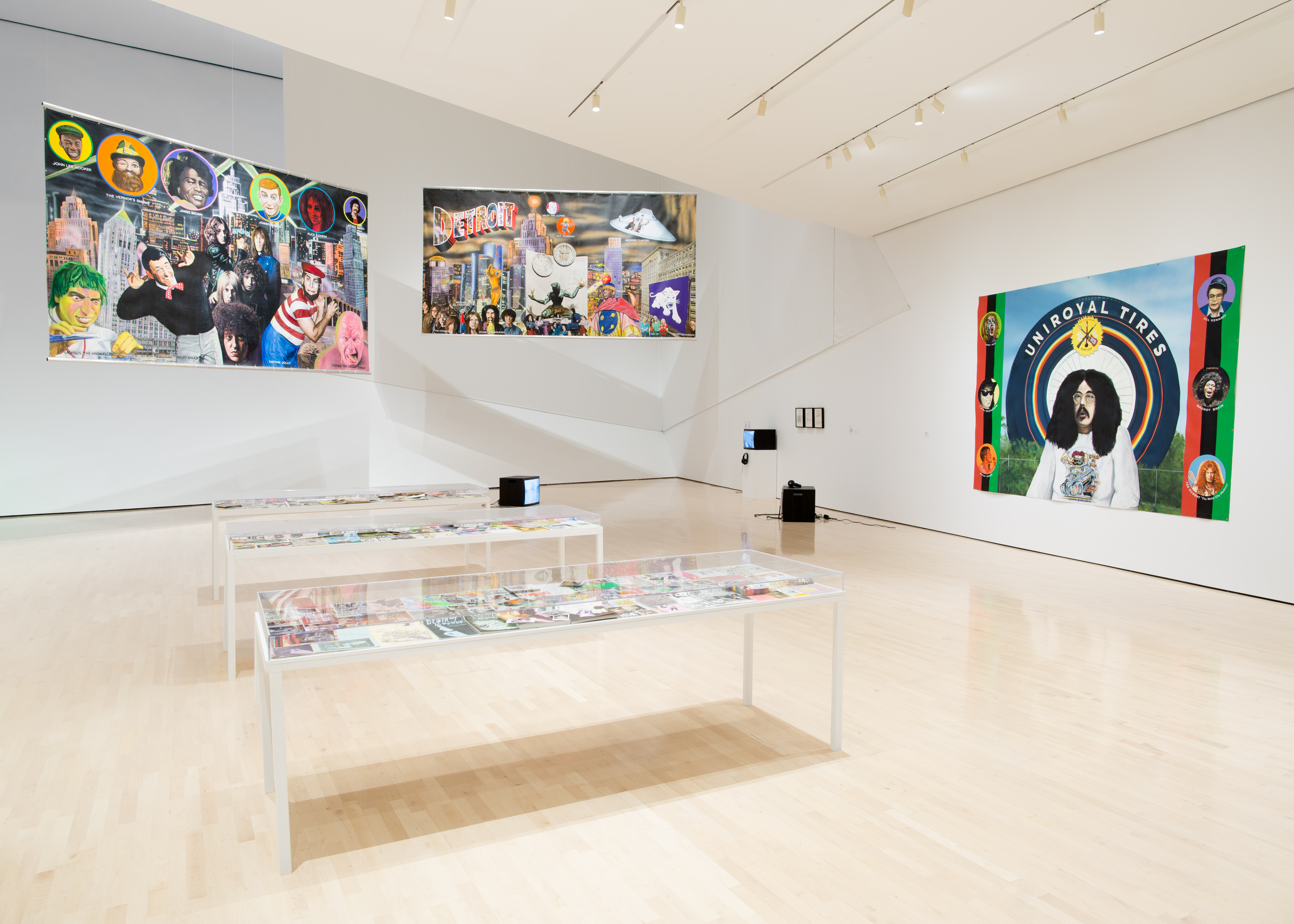 Michigan Stories: Mike Kelley and Jim Shaw, installation view at the MSU Broad, 2017. Photo: Eat Pomegranate Photography