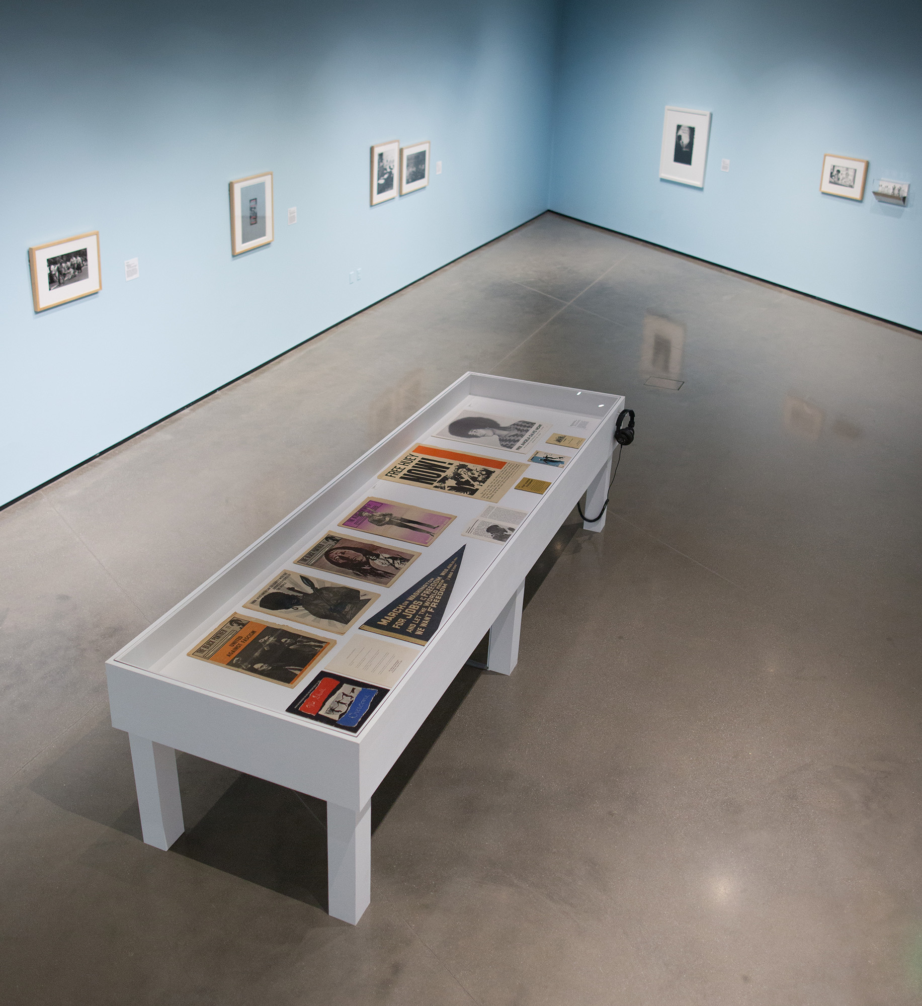 <i>Another Country</i>, installation view at the Eli and Edythe Broad Art Museum at Michigan State University, 2017. Photo: Eat Pomegranate Photography