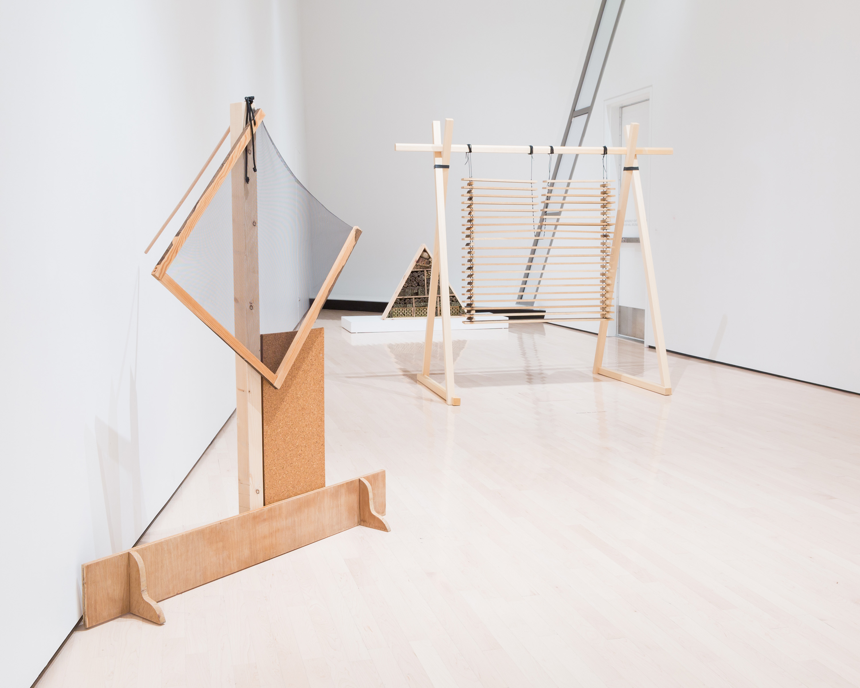 <i>Material Effects</i>, installation view at the Eli and Edythe Broad Art Museum at Michigan State University, 2015. Photo: Eat Pomegranate Photography