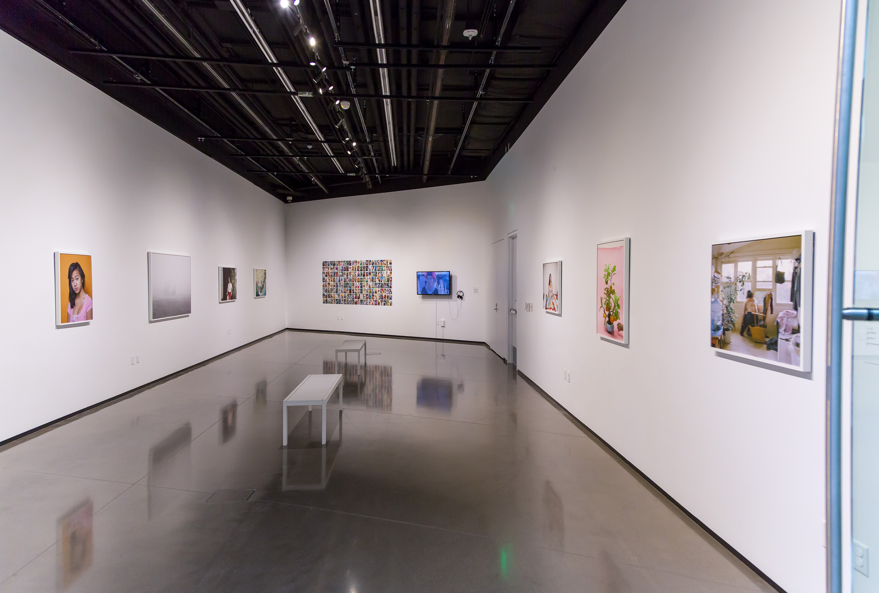 <i>Focus: Pao Houa Her</i>, installation view at the Eli and Edythe Broad Art Museum at Michigan State University, 2015. Photo: MSU Broad