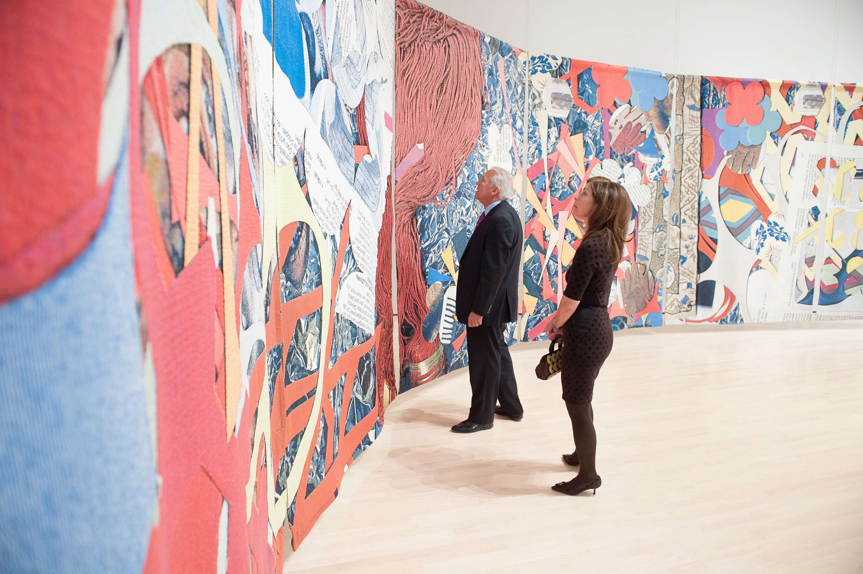 <i>Pattern: Follow the Rules</i>, installation view at the Eli and Edythe Broad Art Museum at Michigan State University, 2013. Photo: Trumpie Photography