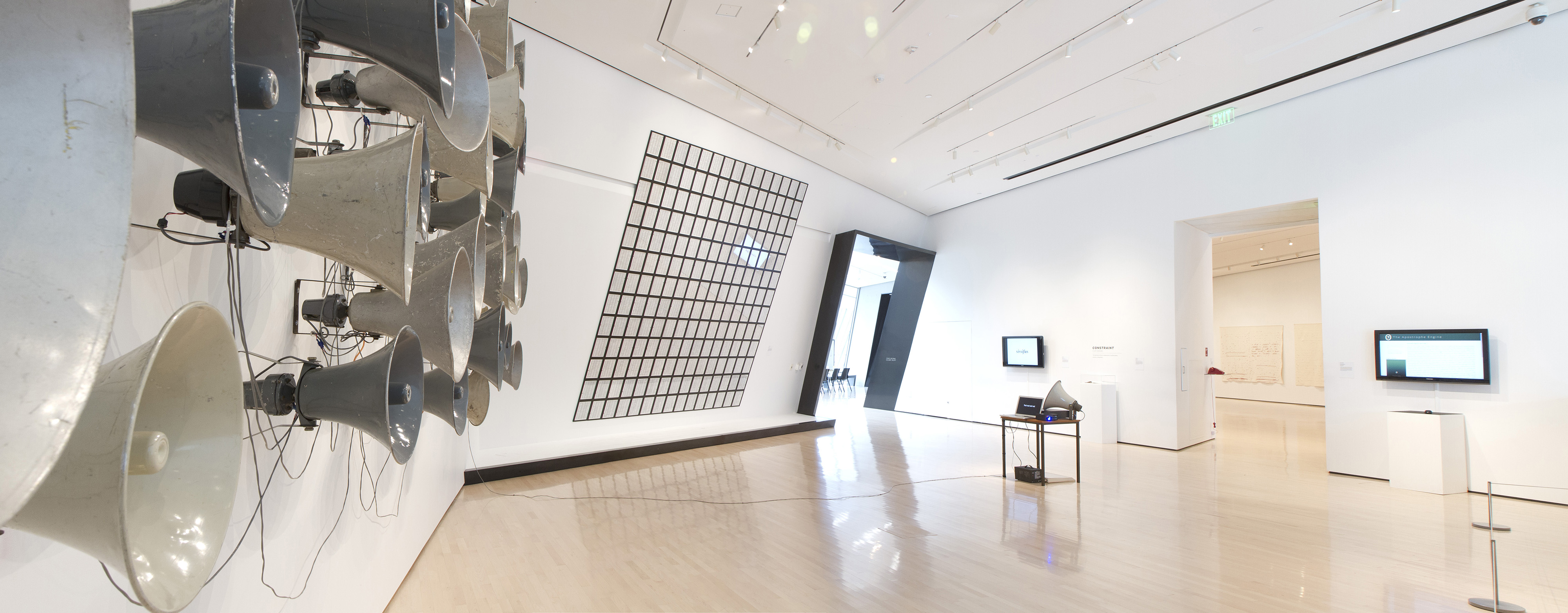 <i>Postscript: Writing After Conceptual Art</i>, installation view at the Eli and Edythe Broad Art Museum at Michigan State University, 2014. Photo: Eat Pomegranate Photography