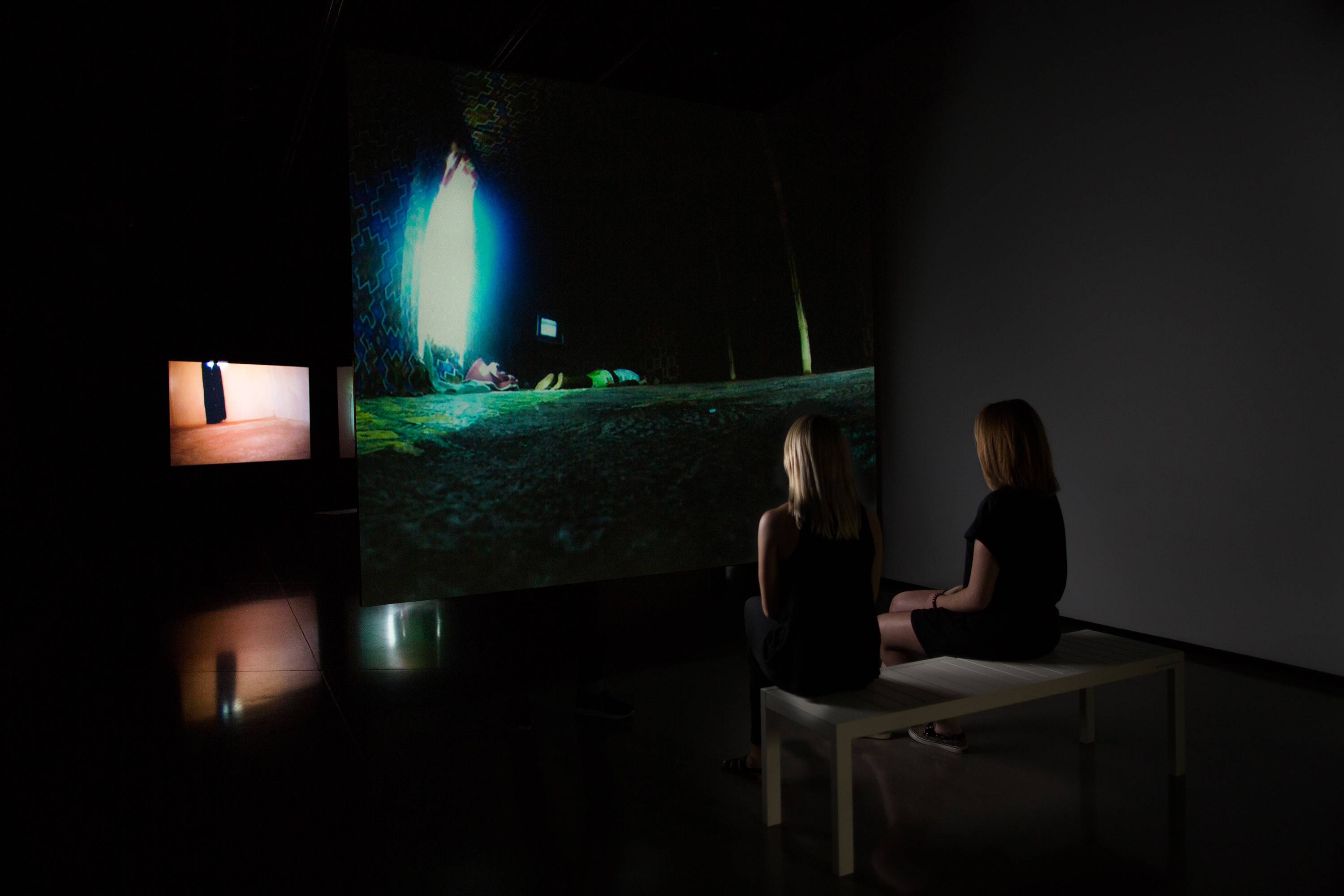 <i>Sam Jury: To Be Here</i>, installation view at the Eli and Edythe Broad Art Museum at Michigan State University, 2016. Photo: Eat Pomegranate Photography