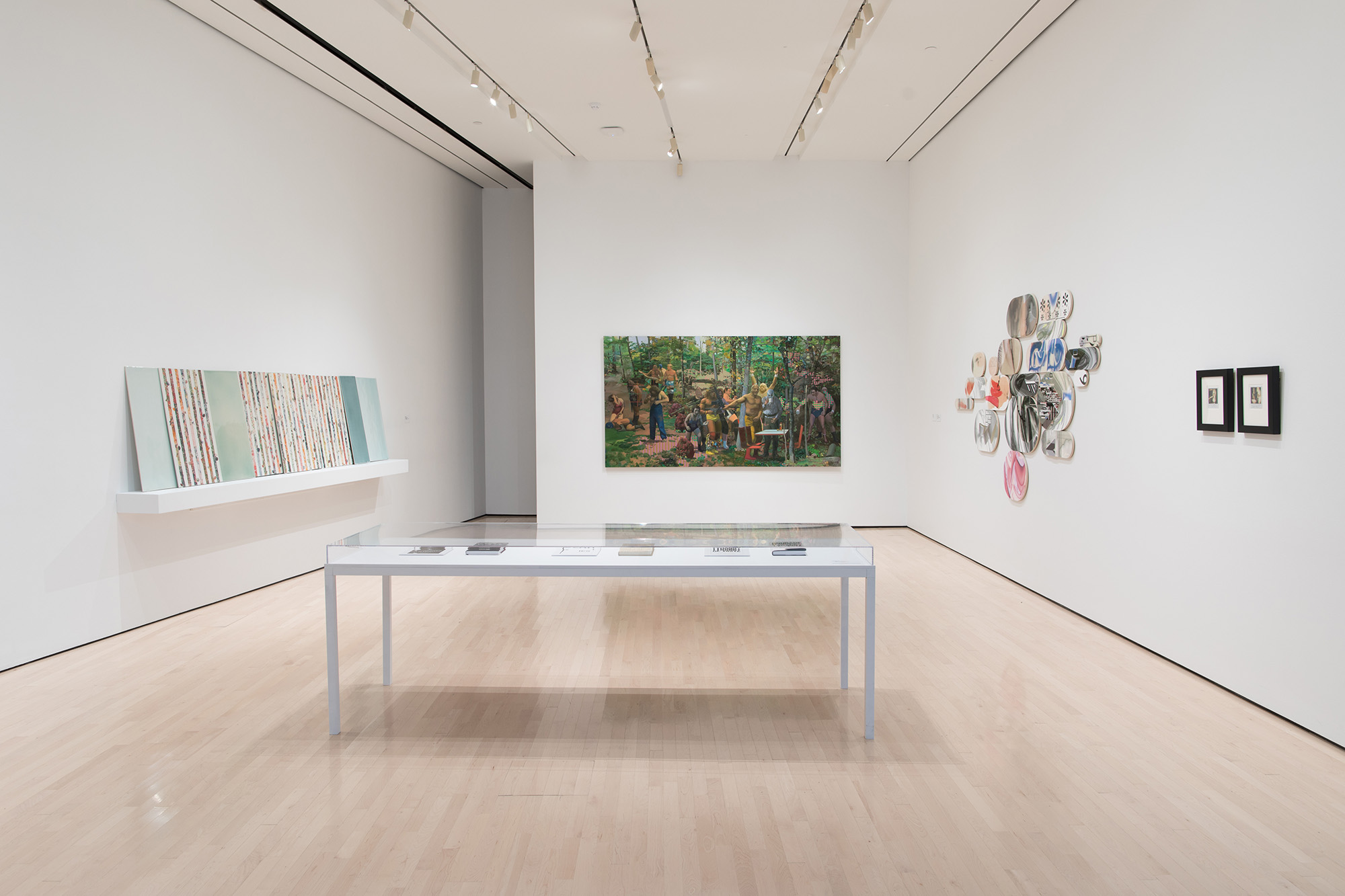 2018 MSU Department of Art, Art History, and Design Faculty Triennial, installation view at the MSU Broad, 2018. Photo: Eat Pomegranate Photography
