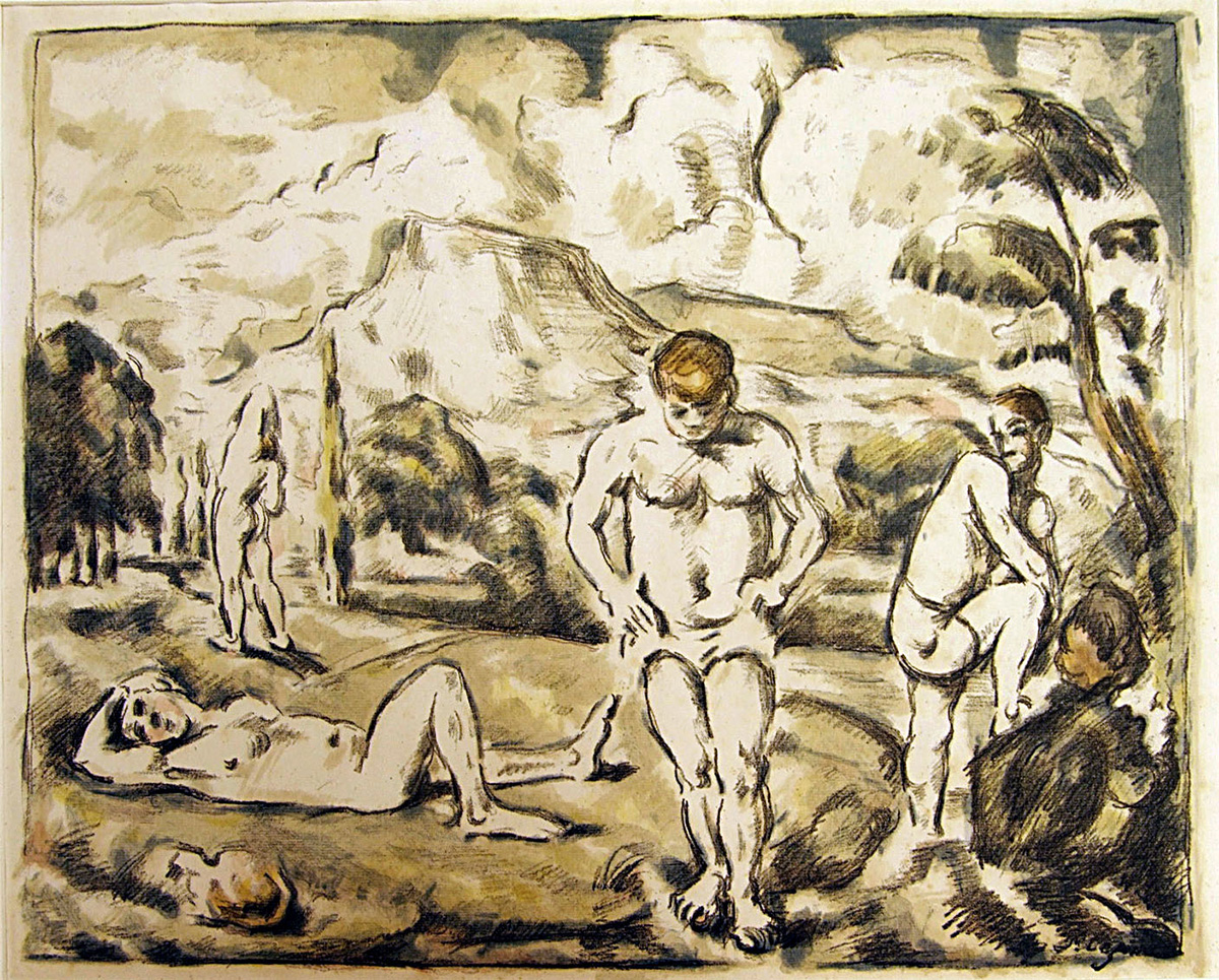 Paul Cézanne, <i>Les Baigneurs (The Large Bathers)</i>, 1899. Eli and Edythe Broad Art Museum, Michigan State University, purchase.