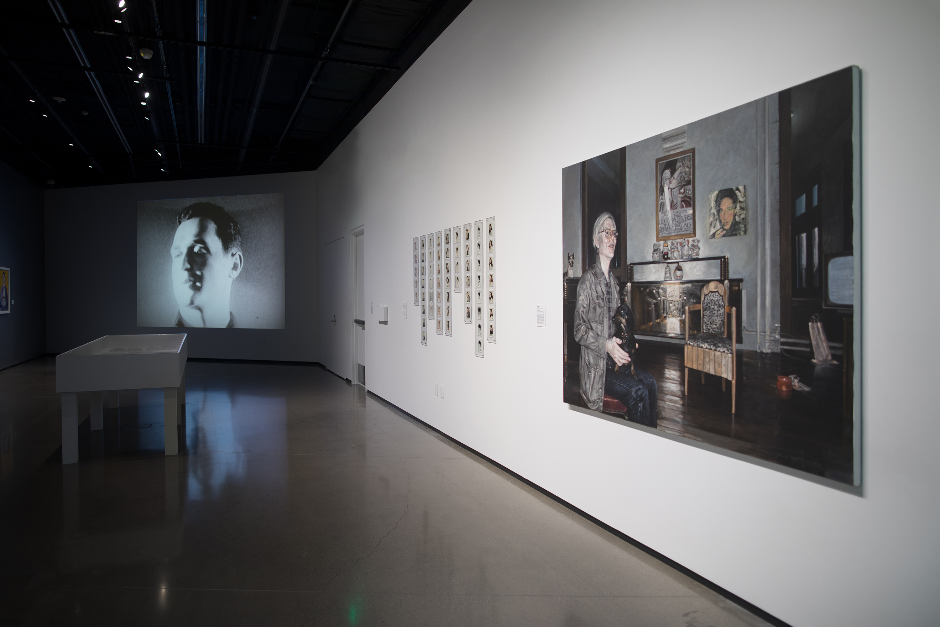 <i>Andy Warhol: A Day in the Life</i>, installation view at the Eli and Edythe Broad Art Museum at Michigan State University, 2018. Photo: Eat Pomegranate Photography
