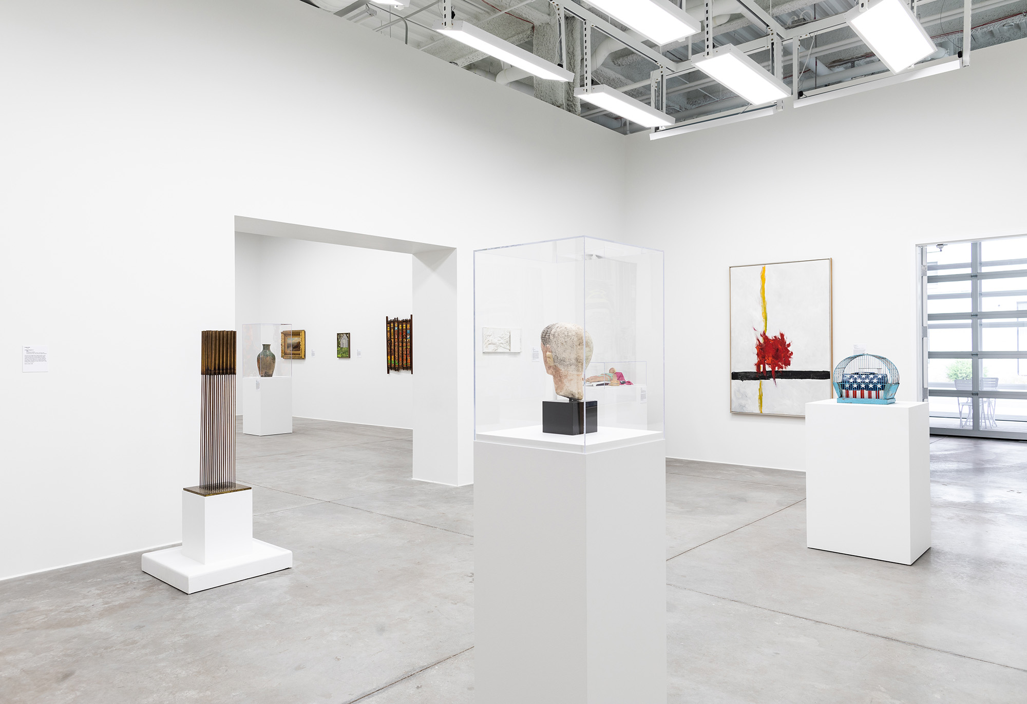 <i>Mining the Collection</i>, installation view at the MSU Broad Art Lab, 2018. Photo: Eat Pomegranate Photography