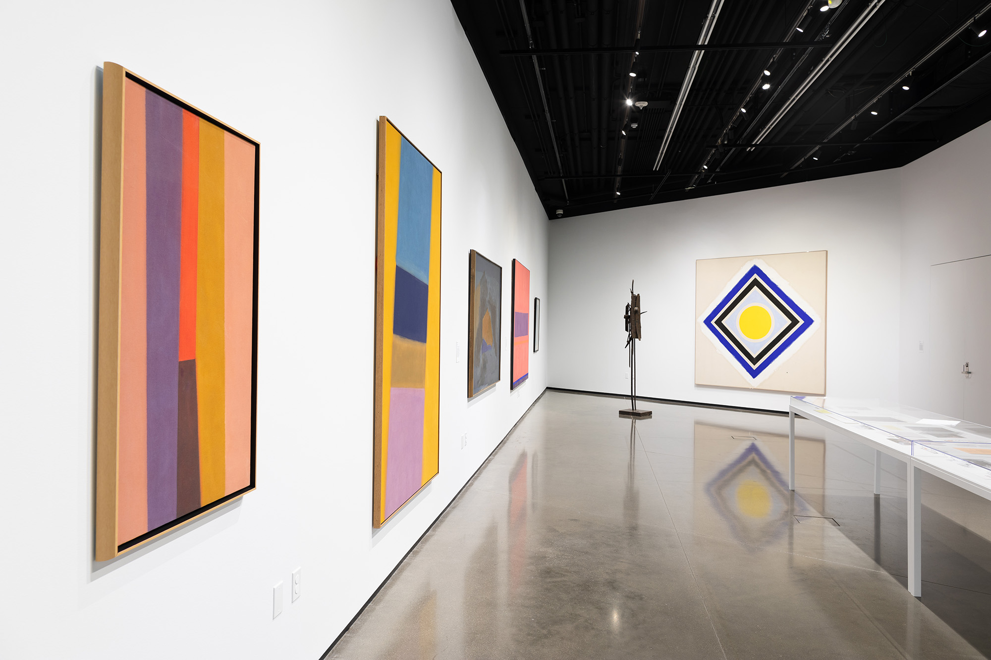 <i>Charles Pollock: Modernism in the Making</i>, installation view at the Eli and Edythe Broad Art Museum at Michigan State University, 2018. Photo: Eat Pomegranate Photography