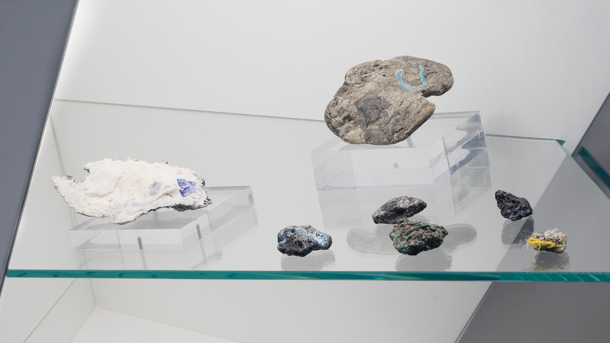 <i>Kelly Jazvac: Plastiglomerate</i>, installation view at the Eli and Edythe Broad Art Museum at Michigan State University, 2018. Photo: Eat Pomegranate Photography