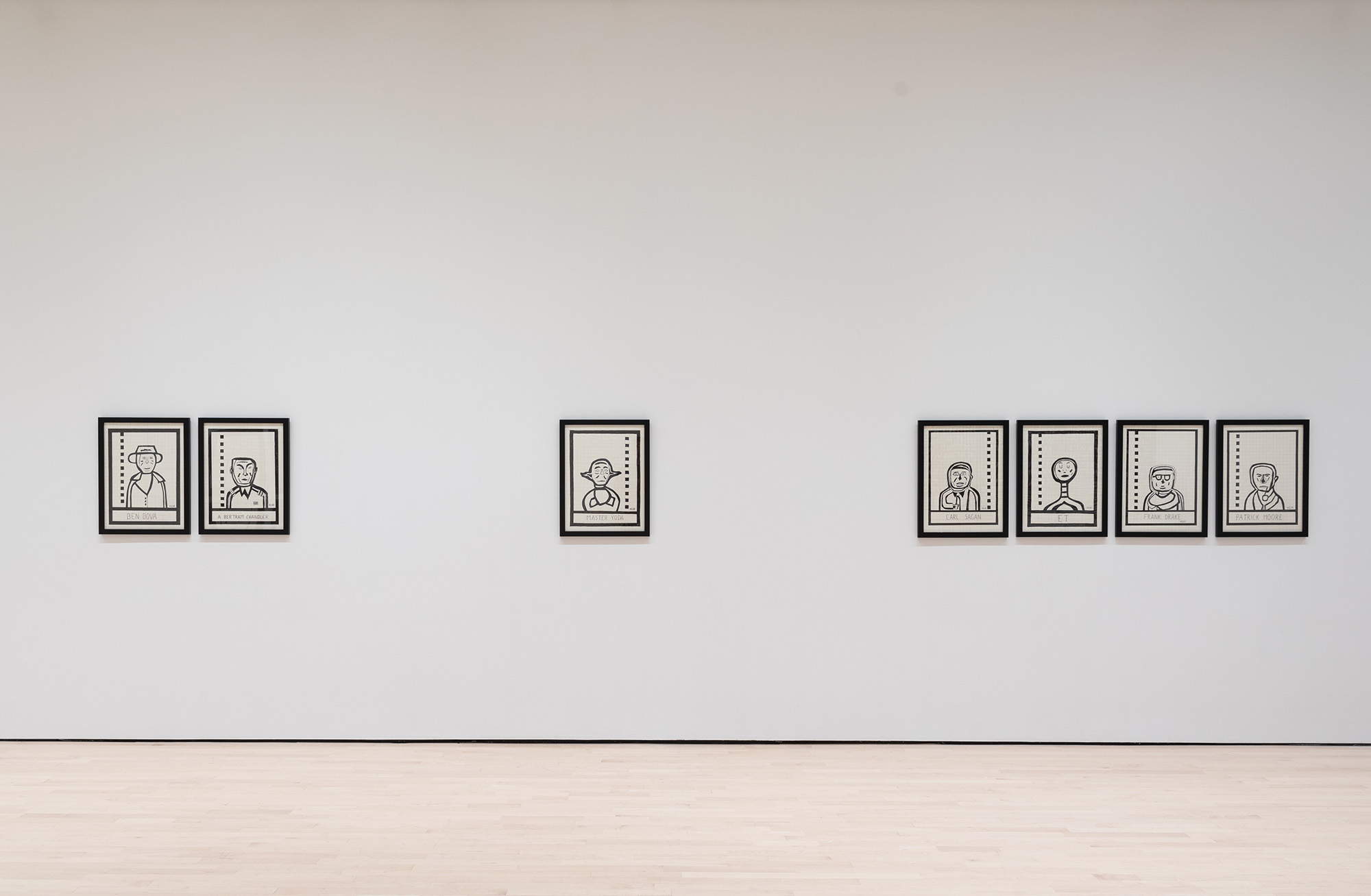 <i>Field Station: Ken Grimes</i>, installation view at the Eli and Edythe Broad Art Museum at Michigan State University, 2018. Photo: Eat Pomegranate Photography