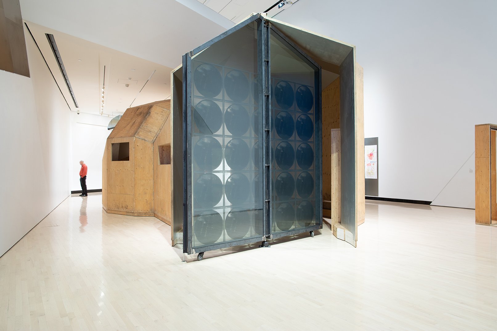 <i>Oscar Tuazon: Water School</i>, installation view at the Eli and Edythe Broad Art Museum at Michigan State University, 2019. Photo: Eat Pomegranate Photography