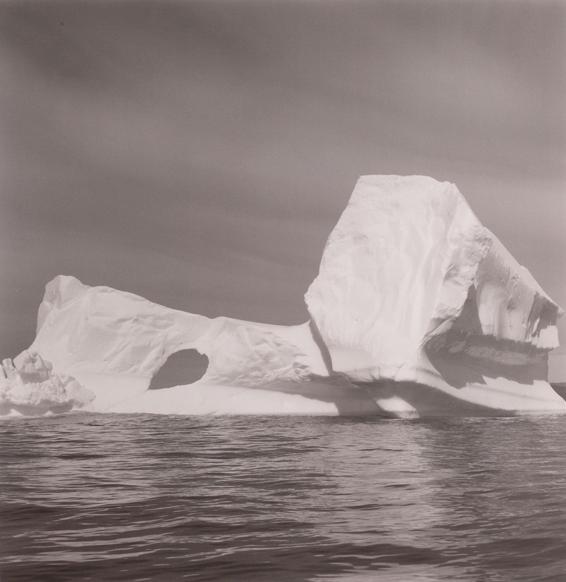 Lynn Davis, <i>Iceberg #21, Disko Bay, Greenland</i>, 1988. Eli and Edythe Broad Art Museum, Michigan State University, gift of Jim Agah and Wendy Sohorec Agah (BA School of Communications 1989).