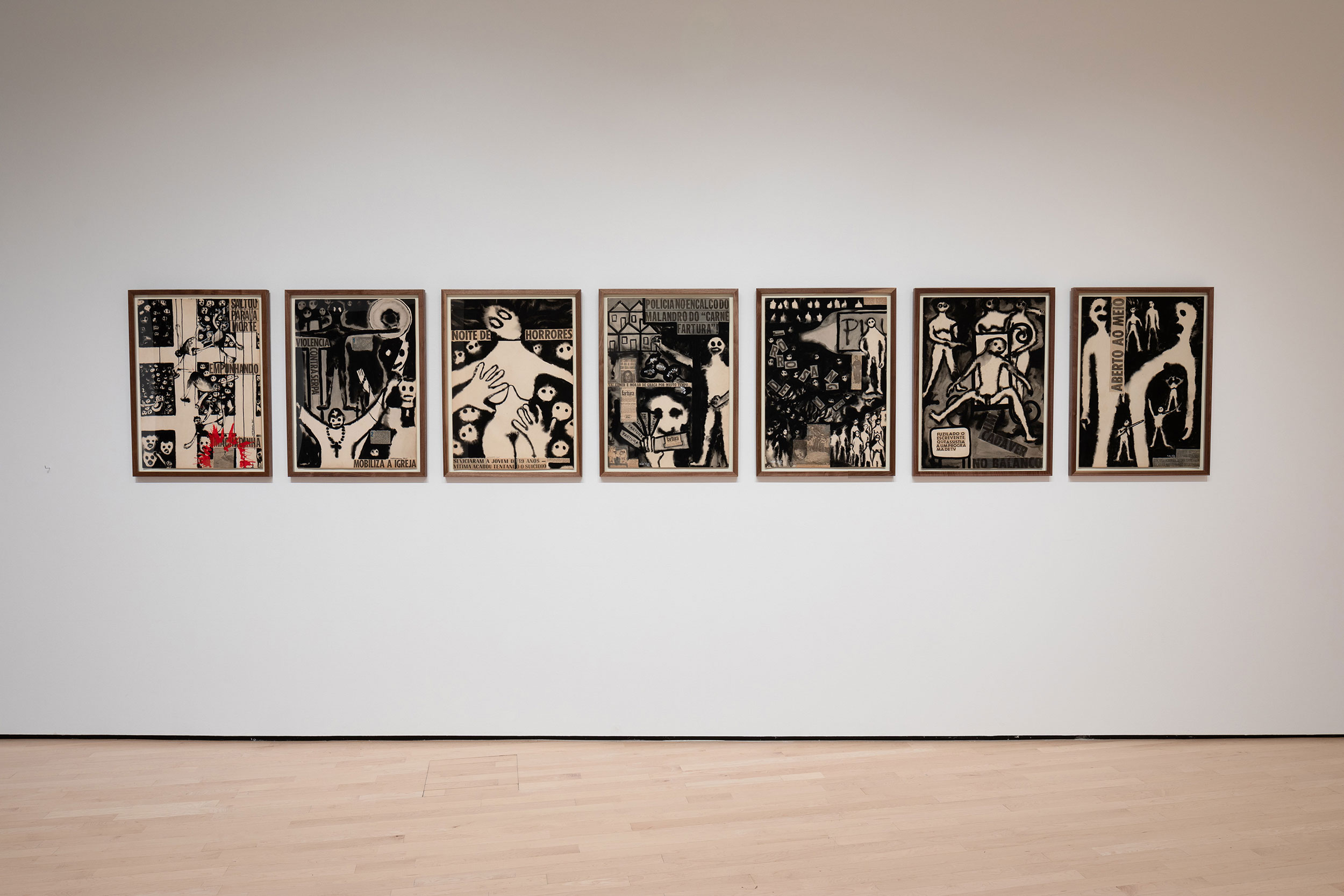 <i>The Edge of Things: Dissident Art under Repressive Regimes</i>, installation view at the Eli and Edythe Broad Art Museum at Michigan State University, 2019. Photo: Eat Pomegranate Photography