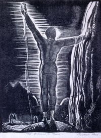 Rockwell Kent, <i>To God</i>, 1924. Eli and Edythe Broad Art Museum, Michigan State University, gift of Kathleen D. and Milton E. Muelder.