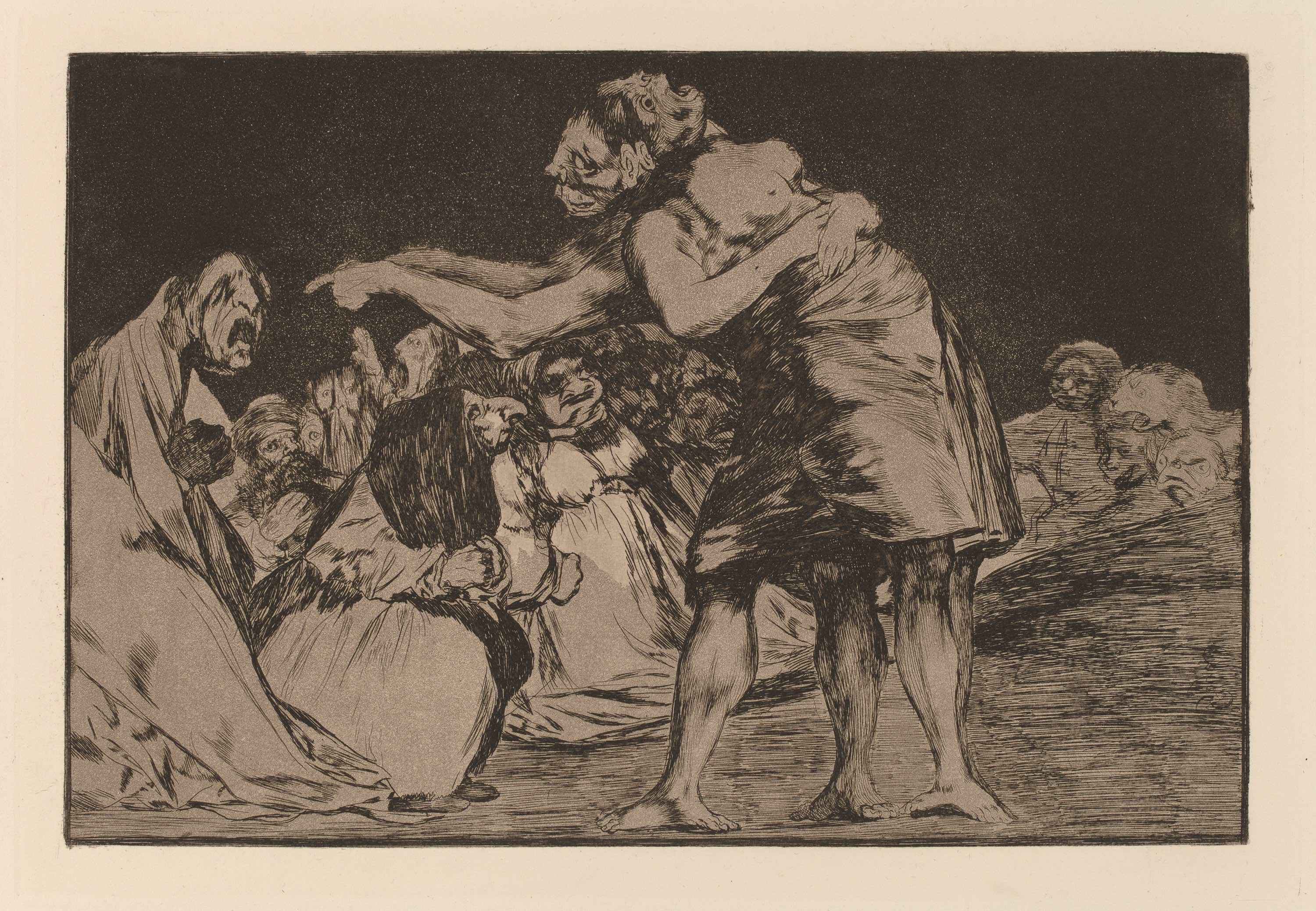 Francisco de Goya, Disparate Desordenado (Disorderly Folly)